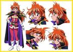 Slayers Lina pose