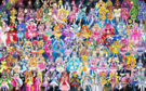112 Pretty Cure Warriors with Fairies