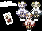 Gen'ei o Kakeru Taiyou Itsuki, Mutsumi and Nanase pose