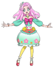 Mahou Tsukai Pretty Cure Kotoha Festival Outfit Movie pose