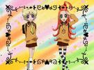 Sugar Sugar Rune Chocolat and Vanilla human transformation pose