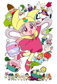 Yume no Crayon Oukoku Princess Silver and friends
