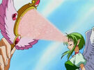 Kamikaze Kaitou Jeanne Finn giving her power7