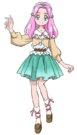 Mahou Tsukai Pretty Cure Kotoha Casual Movie pose