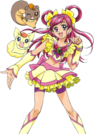 Yes! Pretty Cure 5 Cure Dream, Coco and Natts