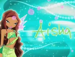 Winx Club Aisha in the Specials