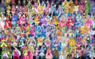 105 Pretty Cure Warriors with Fairies