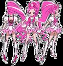 Heartcatch Pretty Cure! Cure Blossom pose