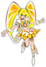 Heartcatch Pretty Cure! Movie Cure Sunshine pose