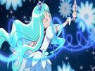 Heartcatch Pretty Cure! Cure Marine in the Blue Forte Wave attack