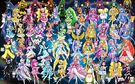 50 Pretty Cure Warriors with Fairies