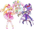 Precure All Stars Maho Girls Precure! pose
