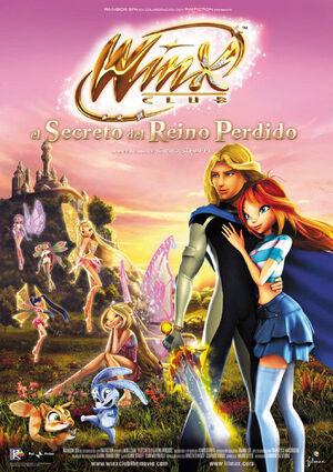 Winx Club El Secreto Del Reino Perdido-Cartel