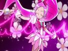 Heartcatch Pretty Cure! Cure Blossom in the Pink Forte Wave attack