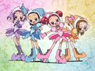 Motto! Ojamajo Doremi Group transformation pose (without Momoko)