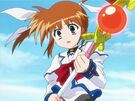Mahou Shoujo Lyrical Nanoha Nanoha activating the Protection2