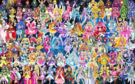 108 Pretty Cure Warriors with Fairies