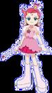 Cosmic Baton Girl Comet-san Comet pose