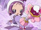 Ojamajo Doremi Motto Onpu using her spell