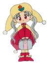 Yume no Crayon Oukoku Princess Silver pose