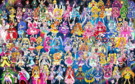 102 Pretty Cure Warriors with Fairies (Updated 3)
