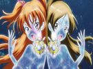 Suite Pretty Cure Hibiki and Kanade in the Modulation transformation