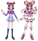 Yes! Pretty Cure 5 Nozomi pose