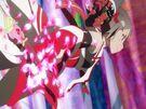 Yuuki Yuuna wa Yuusha de Aru Karin summoning her weapon