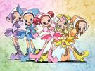 Ojamajo Doremi Motto Group transformation pose