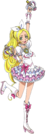Suite Pretty Cure Cure Rhythm pose7