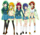 Mahou Shoujo Pixy Princess main characters group