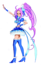 Pretty Cure All Stars DX3 Cure Beat 3D pose2