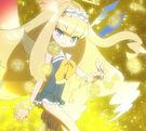 Gen'ei o Kakeru Taiyou Ginka after her transformation