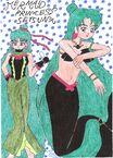Mermaid princess setsuna
