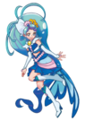 Hugtto! Precure Movie Cure Mermaid Pose