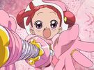 Ojamajo Doremi Motto Doremi using her spell