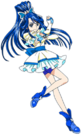 Yes! Pretty Cure 5 Cure Aqua pose2
