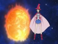 Magical Girl Kyouko Flame burned the world