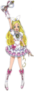 Suite Pretty Cure Cure Rhythm pose6