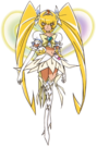 Heartcatch Pretty Cure! Cure Sunshine Super Silhouette pose2