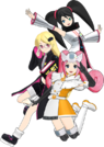 Hi sCoool! SeHa Girl Dreamcast, Sega Saturn and Mega Drive pose2