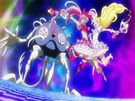 Suite Pretty Cure Cure Melody and Rhythm Music Rondo Super Quartet Finale