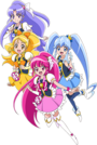 Precure Festival Character Happiness Charge Precure!