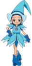 Ojamajo Doremi Aiko witch pose