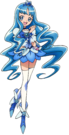 Pretty Cure All Stars DX2 Cure Marine pose