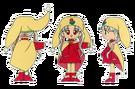 Yume no Crayon Oukoku Princess Silver pose2
