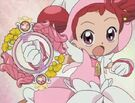 Ojamajo Doremi Sharp Doremi using her Royal Patraine spell