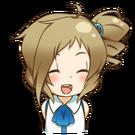 Inori happy