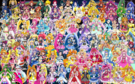 95 Pretty Cure Warriors with Fairies