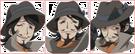 Moetan Da-kun faces